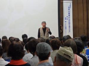 参加者からの質問に答える、講師 渡部 陽一さん