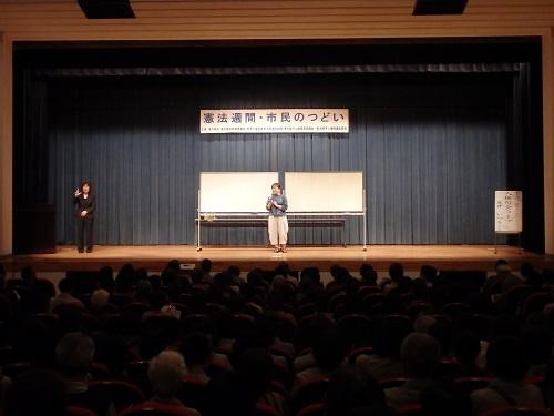 夏井先生の登場に400人を越える来場者様から拍手喝采が挙がる